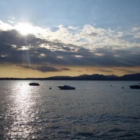 večer na Lago di Garda