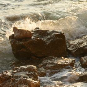 Kameny s mořem