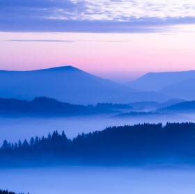 ...sychravá údolí pod Radhoštěm