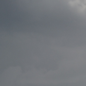 Hoverla při bouřce /2012/ Ukrajina