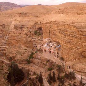 Klášter v Negevské poušti /Izrael/