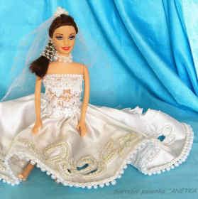 Svatební panenka Anetka