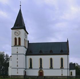 Římskokatolický kostel Božského Srdce Páně