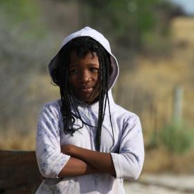 Africká dívka