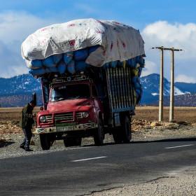 Marocká nákladní přeprava