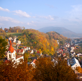 Štramberk na podzim