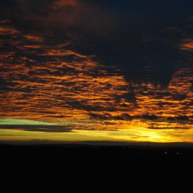 Dokonalý západ slunce