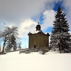 Kaple Panny Marie Sněžné na Hvězdě.