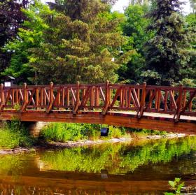Most přes rybníček