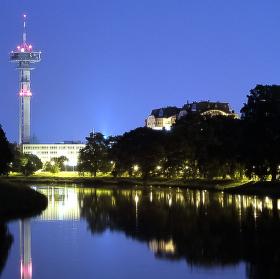 Pardubice v noci