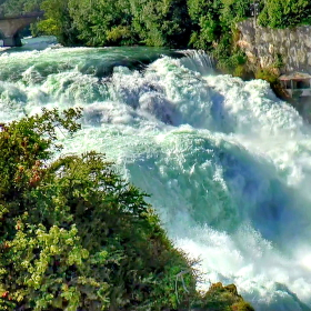 Rýnské Vodopády / Švýcarsko