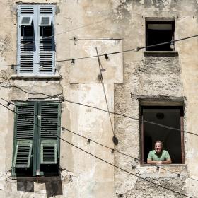 Starý dům - Corte, Korsika