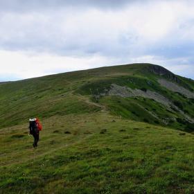 Na hrebeni Nízkých Tatier