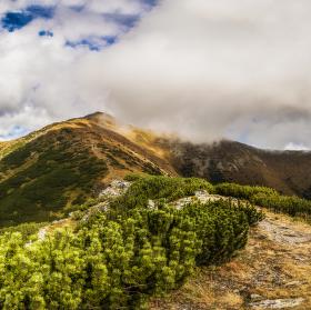 Pohled na pohoří Baranec