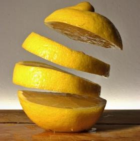 Levitující citron