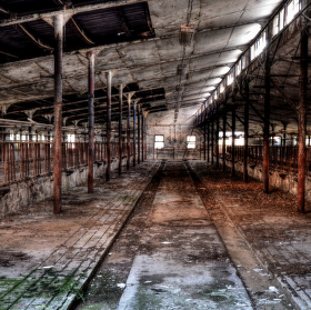 old cowshed