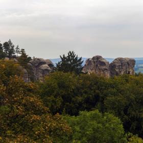 Panorama Hrubá Skála