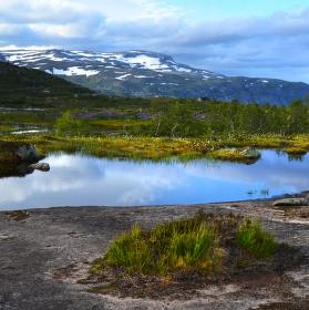 Norské pohoří Skjeggedal