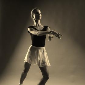 ateliérová baletka