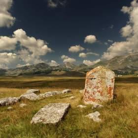 řecký hřbitov v Černé Hoře