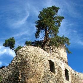 zřícenina hradu Gudštejn