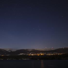 Noc nad horami
