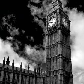 Toulky Londýnem - Big Ben