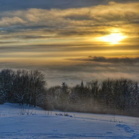 Zima z Kozákova