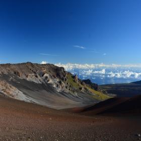 Haleakala, ostrov Maui, Havaj