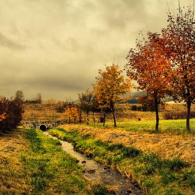 Podzimní potůček