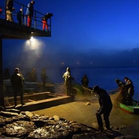 Nelehká práce rybářů