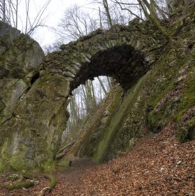 Čertův most u Mladče