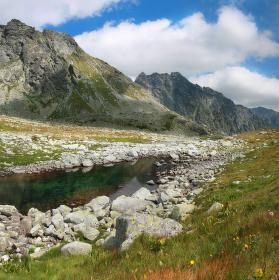 Cestou z Koprovského štítu