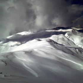 Zimní Alpy