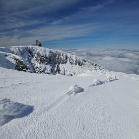 Sněžné jámy v zimě 4.