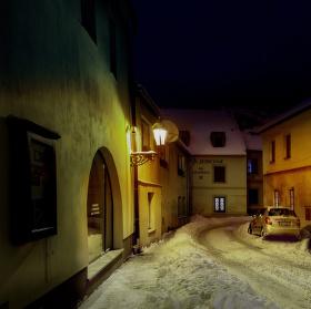 Zimní ulicí