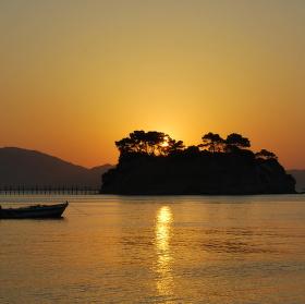 Východ slunce Zakynthos