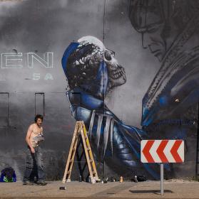 Pouliční umělec