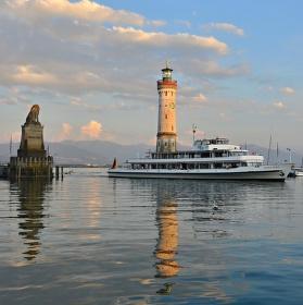 Bodamské jezero (ostrov Lindau)