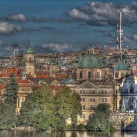 Praha v HDR