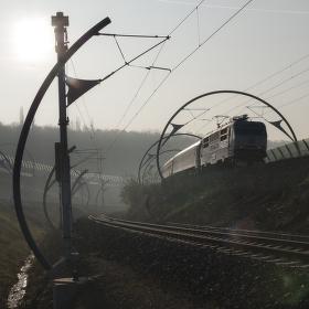 Vlak a smog