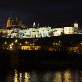 Pražský hrad 28.12.2013