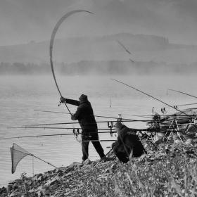 Rybári na Liptovskej Mare