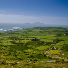 Irské pobřeží..