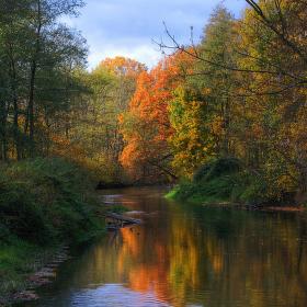 Podzim v Litovelském pomoraví