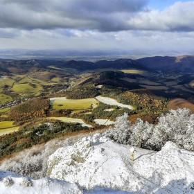 Vyhliadka z kopca Vápeč