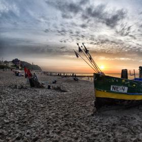 Rybářská bárka