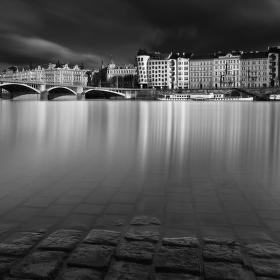 Praha v dlouhé expozici