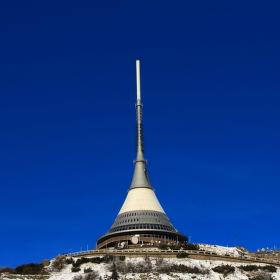 Ve výšce 1012 m.n.m. bez jediného mráčku