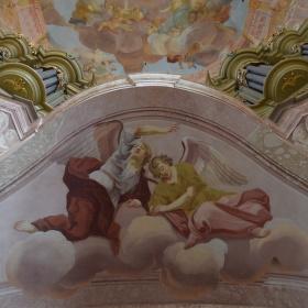 Dva andělé ze Křtin.